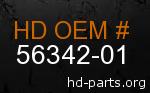 hd 56342-01 genuine part number