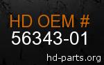 hd 56343-01 genuine part number