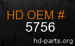 hd 5756 genuine part number