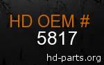 hd 5817 genuine part number