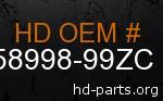 hd 58998-99ZC genuine part number
