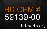 hd 59139-00 genuine part number