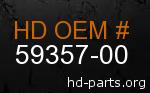 hd 59357-00 genuine part number