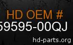 hd 59595-00QJ genuine part number
