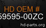 hd 59595-00ZC genuine part number
