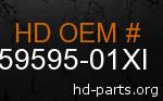 hd 59595-01XI genuine part number