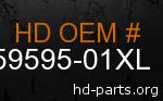 hd 59595-01XL genuine part number