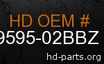 hd 59595-02BBZ genuine part number