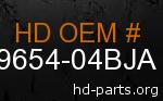 hd 59654-04BJA genuine part number