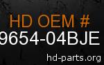 hd 59654-04BJE genuine part number