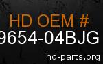 hd 59654-04BJG genuine part number
