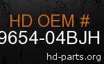 hd 59654-04BJH genuine part number