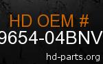 hd 59654-04BNV genuine part number