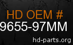 hd 59655-97MM genuine part number