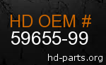 hd 59655-99 genuine part number
