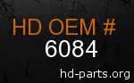 hd 6084 genuine part number