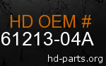 hd 61213-04A genuine part number
