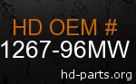 hd 61267-96MW genuine part number