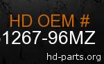 hd 61267-96MZ genuine part number