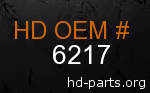 hd 6217 genuine part number