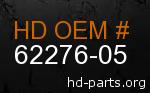 hd 62276-05 genuine part number