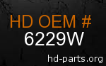 hd 6229W genuine part number