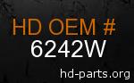 hd 6242W genuine part number
