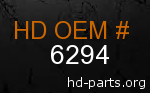 hd 6294 genuine part number