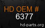 hd 6377 genuine part number