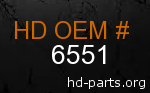 hd 6551 genuine part number