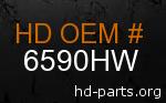hd 6590HW genuine part number