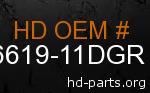 hd 66619-11DGR genuine part number