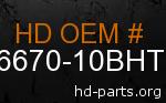 hd 66670-10BHT genuine part number