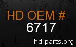hd 6717 genuine part number
