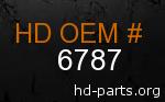 hd 6787 genuine part number