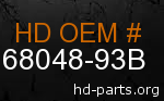 hd 68048-93B genuine part number
