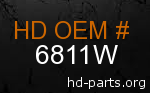 hd 6811W genuine part number