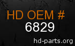 hd 6829 genuine part number