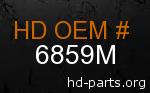 hd 6859M genuine part number