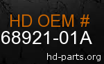 hd 68921-01A genuine part number