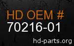 hd 70216-01 genuine part number
