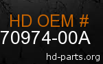 hd 70974-00A genuine part number
