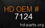 hd 7124 genuine part number