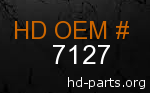 hd 7127 genuine part number