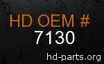 hd 7130 genuine part number