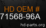 hd 71568-96A genuine part number