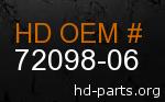 hd 72098-06 genuine part number