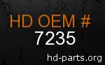 hd 7235 genuine part number