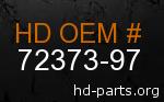 hd 72373-97 genuine part number