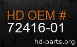 hd 72416-01 genuine part number